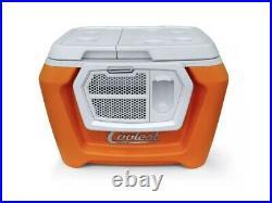 Coolest Cooler Essential Orange Color + Bluetooth Speaker No Blender