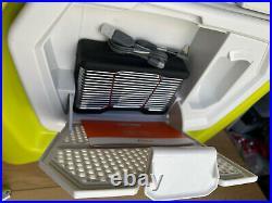 Coolest Cooler Lime Green Bluetooth Speaker Blender LED Beach Need Battery