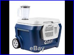 Coolest Cooler in Blue Moon ice chest cold portable picnic tailgate beer soda