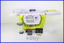 Coolest Cooler in Margarita Green, 55-Quart Capacity, Bluetooth Speaker GRN60