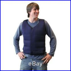 Cooling Vest Ice Work Medical Cold Body Freeze Pack Adult Navy Suit Run Sports