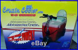 Cruzin Cooler Electric Scooter 50-500XE Motorized Ice Chest 500 Watt Electric