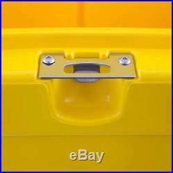 DeWalt 45 Quart Roto Molded Insulated Lunch Box Drink Cooler, Yellow (Used)