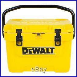 DeWalt DXC10QT Roto-Mold Design 10 Quart Insulated Lunch Box Cooler, Yellow