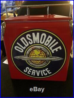 Dr Oldsmobile Retro Metal Cooler Oldsmobile Service Great For Car Showes New