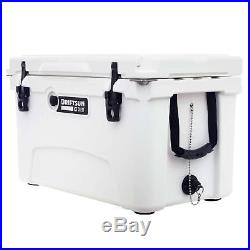 Driftsun 45 Quart Ice Chest / Heavy Duty Cooler (White)
