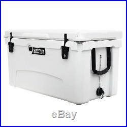 Driftsun 75 Quart Ice Chest / Heavy Duty Cooler / High Performance (White)