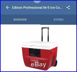 Edison Professional 12-M-5 Ice Blast Deluxe Bluetooth Personal Cooler