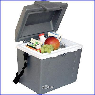 Electric Portable 12 Volt Cooler & Warmer, Thermoelectric Car Boat Travel Fridge