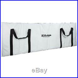 Elkton Outdoors Insulated Fish Cooler Bag with Easy Grip Carry Handles and Carry