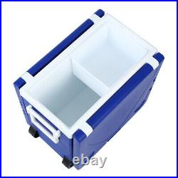Foldable Multi Function Table Ice Cooler Picnic Camping Drink Storage Withchair2