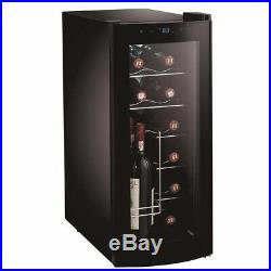 Frigidaire 12-Bottle or 26-Can Curved Door Beverage Cooler