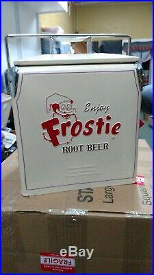 Frostie Root Beer Retro Style Picnic Cooler