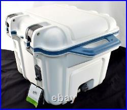 GENUINE OTTERBOX Venture Cooler Hudson 25 Quart Blue/White 481PY