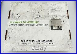 Genuine OtterBox Venture 25 Quart Cooler Hudson 77-54864 White/Blue Good