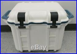 Genuine OtterBox Venture 25 Quart Cooler Hudson 77-54864 White/Blue Good Shape