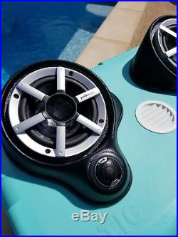 Green Cooler Entertainment Speaker System with Bluetooth stereo ice chest cooler