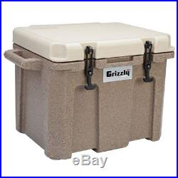 Grizzly 60 Qt Heavy Duty Ice Retention Cooler Sandstone / Tan Made in USA