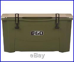 Grizzly 60 Quart Cooler with Mold-in Handles IRP-8070