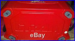 Grizzly Red 40 Quart Cooler Featuring Budweiser and The St. Louis Cardinals! NEW