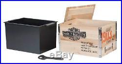 Harley-Davidson 1903 Vintage Wooden Crate Cooler 13.75 x 10 x 10.25 in HDL-18531