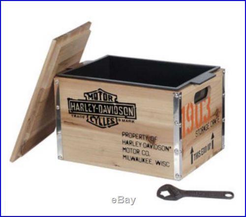 Harley-Davidson 1903 Wooden Crate Cooler HDL-18531