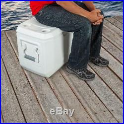 Heavy Duty Cooler with Wheels Coleman 100 Quart Xtreme 5 Day Ice Chest Insulated