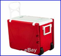 Hielera Refrigeradora Plegable Para Picnic Convertible En Mesa Con 2 Sillas