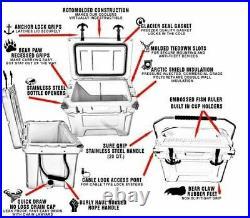 Hogg Coolers 65qt on wheels