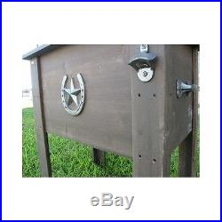 Home Backyard Deck Porch Kitchen Decor Barbecue Tailgate Country Cooler