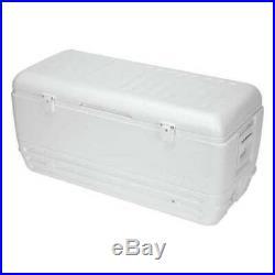 IGLOO 44363 Quick & Cool Full Size Chest Cooler, 150 qt, White