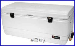 IGLOO 44688 Chest Cooler, Marine, 128 qt, White