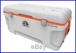 IGLOO 44808 Full Size Chest Cooler, 150 qt, Wht/Org