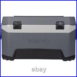 IGLOO BMX 72 qt. Hard Cooler Carbonite Gray/Carbonite Blue