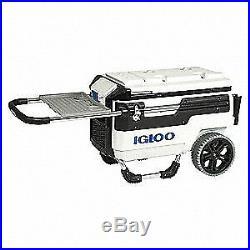 IGLOO Beverage Cooler, 70 qt. Cap, White, 00034231