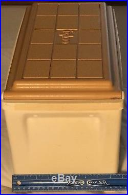 IGLOO Console Cooler Kool Rest Tan Vintage Ice Chest Hunting Rig