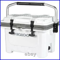 IGLOO IMX 24 qt. Hard Cooler White