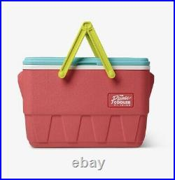IGLOO The Picnic Basket Throwback Cooler Watermelon Color- Retro Rare New