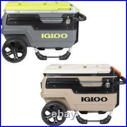 IGLOO Trailmate Journey 70 qt. Hard Roller All-Terrain Cooler