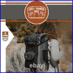 IceMule Urbano 30 Liter 20 Can Soft Waterproof Backpack Cooler Bag (Open Box)