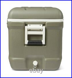 Ice Chest Cooler 150-Quart Hard-Sided Hunting 248 Can Capacity Olive Green
