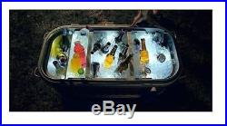 Igloo 125 Qt. Party Bar LED-Lit Lid Outdoor Patio Deck Portable Cooler Ice Chest