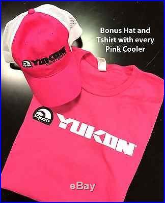 Igloo 20 QT Pink Yukon Cold Locker Cooler
