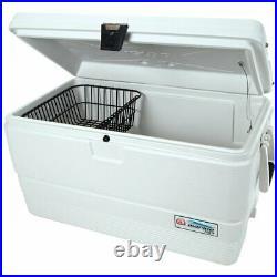 Igloo 72-Quart Marine Ultra Ice Chest Cooler White