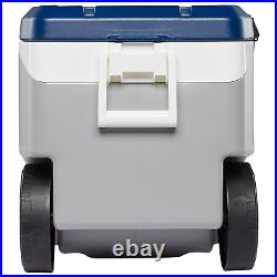 Igloo 90 Quart Wheeled Cooler Ice Chest, 5 day, Camping, Fishing, Flip & Tow, NEW