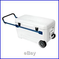 Igloo Glide Marine Ultra Cooler (White/Blue 110-Quart)