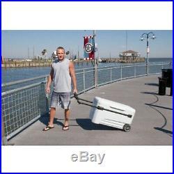 Igloo Glide PRO Cooler (110-Quart, White) 45184
