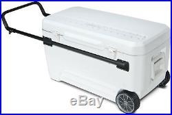 Igloo Glide PRO Cooler (110-Quart, White) New