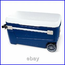 Igloo Glide Roller Cooler, (110 Qt.) 61034535 Heavy Duty 5-day ice retention