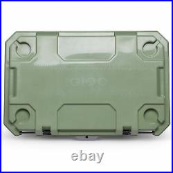 Igloo IMX 70 Quart Injected Molded Construction Cooler, Oil Green (Open Box)